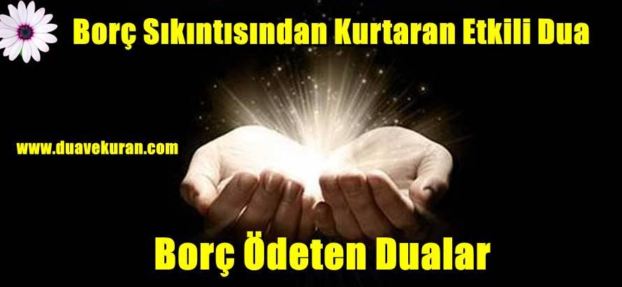 Borç Sıkıntısından Kurtaran Etkili Dua