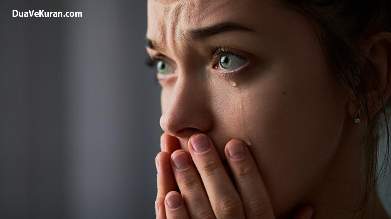 Rüyada Pişman Olduğu İçin Ağlamak